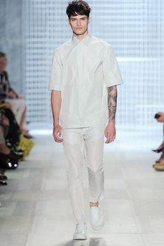 Spring-Summer 2014 Show Summer 2014, Spring Summer, Lacoste, Chef Jackets, Button Down Shirt, Normcore, Men Casual, Menswear, Mens Tops