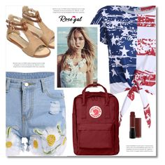 """Rosegal"" by defivirda ❤ liked on Polyvore featuring Fjällräven and vintage"