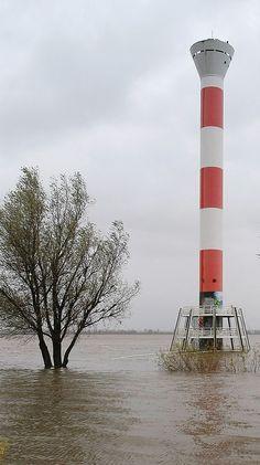 The lighthouse of Blankenese, Hamburg, Germany. by margo Lighthouse Photos, Beacon Of Light, Hamburg Germany, Water Tower, Light House, World Traveler, Beautiful Places, Scenery, Places To Visit