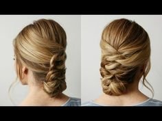 Knotted Updo | Missy Sue - YouTube