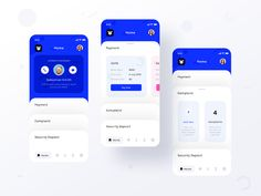 Tenant app assignment (Home ver 1 with Payment and complaint) designed by Prakhar Neel Sharma. Connect with them on Dribbble; Ui Design Mobile, App Ui Design, Interface Design, User Interface, Dashboard Design, Flat Design, Card Ui, App Home, Affinity Photo