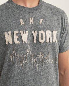Mens - Logo | Mens - Graphic Tees | eu.Abercrombie.com