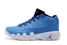 a575174cafd1 ... order mens air jordan 9 retro low pantone university blue white black  for 9767b a4eb8