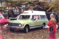 1971 or 1972 Chevy Suburban ambulance