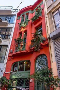 Balconies, Athens, Greece (The Best Travel Photos) - All About Balcony Mykonos, Santorini, Kusadasi, Beautiful World, Beautiful Places, Places Around The World, Around The Worlds, Athens Greece, Greece Travel