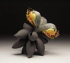 Biomorphic Forms in clay by Cj Jilek. Sculptures Céramiques, Sculpture Art, Sculpture Ideas, Ceramic Sculptures, Slab Pottery, Ceramic Pottery, Thrown Pottery, Objet Deco Design, Organic Ceramics