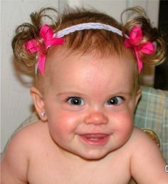 The Original Baby Ponytail Faux Pigtail Headband  by BellaAspire, $20.00 - K may need this