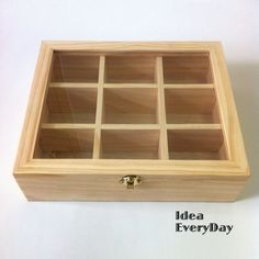 Box With 9 Compartments