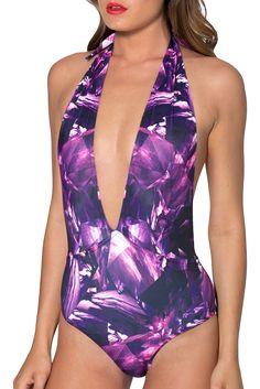 Amethyst Vegas Suit - Discontinued/museum SAMPLE