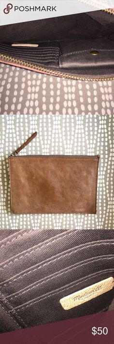 Madewell 3-Tone Leather Zip Wallet Pouch Great condition, authentic leather. Brand is Madewell. Great item for traveling, smoke free home.    Tags/Shop Brands: Thrasher, Supreme, Nike, Adidas, Burberry, Pacsun, Vans, Vineyard Vines, Polo Ralph Lauren, True Religion, Jack Rogers, Birkenstock, Southern Tide, Columbia, Acne, Lilly Pulitzer, 7 For All Mankind, Zara, Coach, Kate Spade, Brandy Melville, Michael Kors, Puma, Calvin Klein, Patagonia, Chanel, Brooks Brothers, Hunter, Air Jordan, UGG…