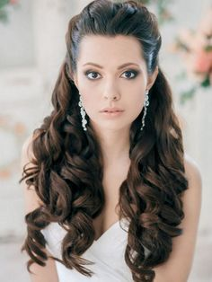 Wedding Hair Inspiration: 12 Ways to wear your Long Hair Down #hair #hairstyles #beauty #popular #everything