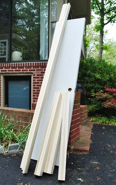 Diy Door Desk Ideas how to build a desk with an old hollow core door | door desk, bar