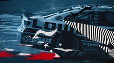 Insane #motionGraphics for FOX Nascar All-Star Race 2014 promo video