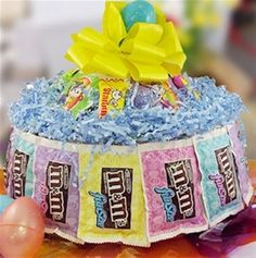 M's Easter candy cake
