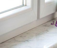 Fensterbank aus Granit oder Marmor