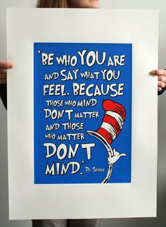 Dr Seuss Cat in the Hat Limited Edition Hand by BarryDBulsara, $55.00