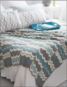 Ravelry: Chevron Panels pattern by Bernat Design Studio
