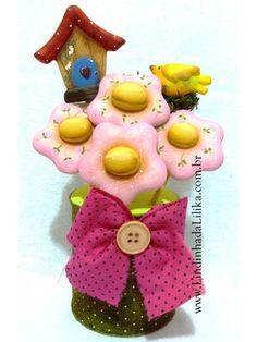 fun foam cow and silo treat jar | frascos decorados | Pinterest | Cow