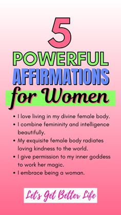 Affirmations For Women, Positive Affirmations Quotes, Morning Affirmations, Affirmation Quotes, Manifestation Journal, Mental And Emotional Health, Self Care Activities, Self Improvement Tips, Me Time