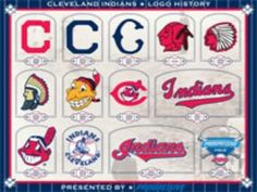 all the Cleveland Indians logos