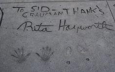 https://flic.kr/p/y3UCBz | Rita Hayworth Hollywood Walk of Fame Hand and Footprints