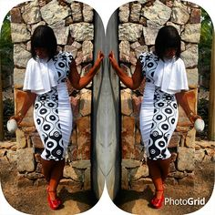"""131 Likes, 12 Comments - NaaGborsi/NeyomiGborsi (@detailsbyneyomi) on Instagram: """"A black and white affair."""""""