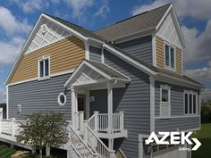 AZEK Siding is a snap to install and doesn't require painting, sealing or caulking. http://www.azek.com/siding