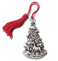 AVON - holiday - $10 and under 2013  new! 2013 ChristmasTree Pewter Ornament $9.99