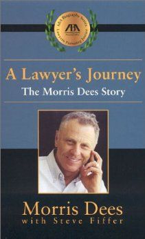 A Lawyer's Journey: The Morris Dees Story. Founder of Southern Poverty Law Center.