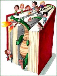 Reading Dragon (130 pieces)
