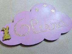 Plaque de porte nuage Olivia