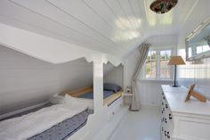 skråtak seng i vegg - Google-søk  Jenterom  Pinterest