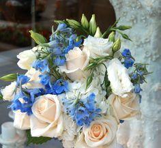 Malibu Blue Wedding Bouquets | wedding colors_2014 Bridal Trends Beach wedding Bouquet Malibu blue ...