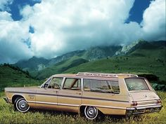 1965 Plymouth Fury II Station Wagon