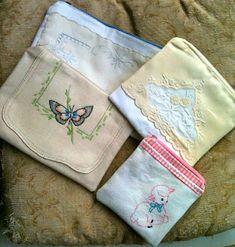 Vintage Linen purses