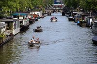 """Dubbed the """"Venice of the North"""", Amsterdam's canals are not only attractive, but they're also a great way to travel around the city, enjoying the sights of this free-thinking European metropolis."""