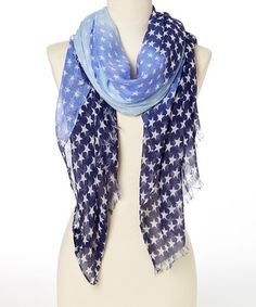 Look what I found on #zulily! Cool Ombré Stars Scarf by Steve Madden #zulilyfinds