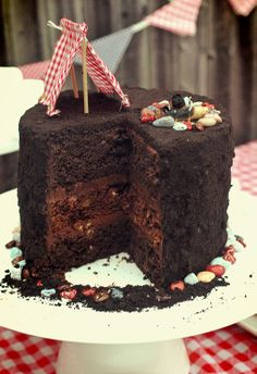 dirt cake!