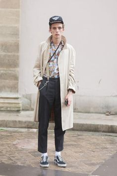 PFW SS15 Mens Street Style by Melodie Jeng (models.com)