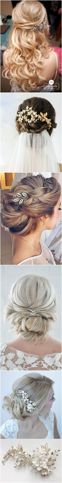 Wedding Hairstyles » Hair Comes the Bride – 20 Bridal Hair Accessories Get Style Advice for Any Budget ❤️ See more: http://www.weddinginclude.com/2017/03/hair-comes-the-bride-bridal-hair-accessories-get-style-advice-for-any-budget/ http://noahxnw.tumblr.com/post/157429908986/short-hair-with-bangs-short-hairstyles-2017