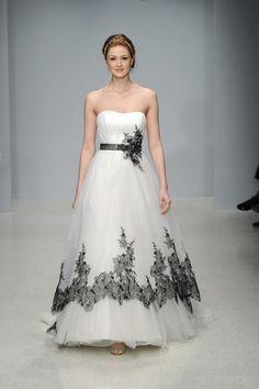 Black and White Wedding Dresses 2015 Ideas | Wedding Lite