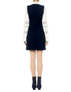 Red Valentino: Scallop Sailor Dress (item view - 4)