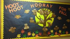 Preschool Classroom Bulletin Board | Fall bulletin board for preschool | Things for the classroom!