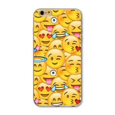 Emoji Phone Case For iPhone 4 4s 5 5s SE 5c 6 6s 6plus 6s, Silicon Soft TPU, 20 Varieties to Choose From