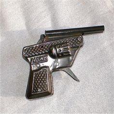 Vintage Toy Gun Vintage Toy Hawk Cap Gun 1950s by vintagedottirose, $14.00
