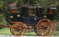 The 1892 Road Coach made by renowned coachbuilders Holland & Holland that is expected to sell for £150,000