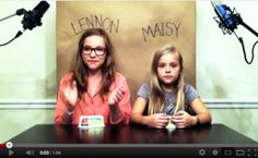 Sisters Lennon and Maisy Stella going a'cappella on their cover of Call Your Girlfriend, originally performed by Robyn and covered later (a'cappella) by Erato.    Twelve year old Lennon has some guitar chops too. Check out their other videos on YouTube. The counter is currently showing only 304 views but comments are already into the thousands – so the counter is probably stuck and will catch up over the next 24 hours.    PREVIOUS POST: Move Over FourSquare – Here Comes Belly