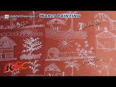 Warli Painting - Harmony with Nature | JK Arts 578 - YouTube