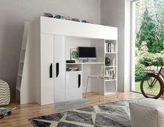 die besten 25 kinderhochbett mit schreibtisch ideen auf pinterest. Black Bedroom Furniture Sets. Home Design Ideas