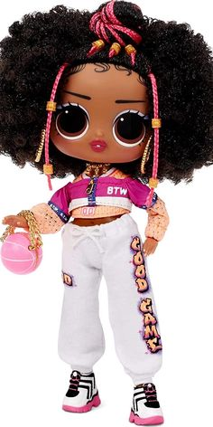 """NEW SIZE: Unbox an entirely new size of LOL Surprise doll IN BETWEEN LOL dolls and OMG fashion dolls. UNBOX 15 SURPRISES including LOL Surprise Tweens fashion doll – Hoops Cutie. RUNWAY READY: This all new 6"""" fashion doll, Hoops Cutie has stunning features from head to toe. FIERCE FASHIONS: Unbox Hoops Cutie's sportswear style fashions and accessories to get her ready for the runway. #tweens #fashiondoll #outift #accessories #lolsurprise #doll #dolls #toy #toys #nice"""